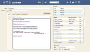 goFlowApps FileMaker Modules Sjabloon Merge - Mailmerge